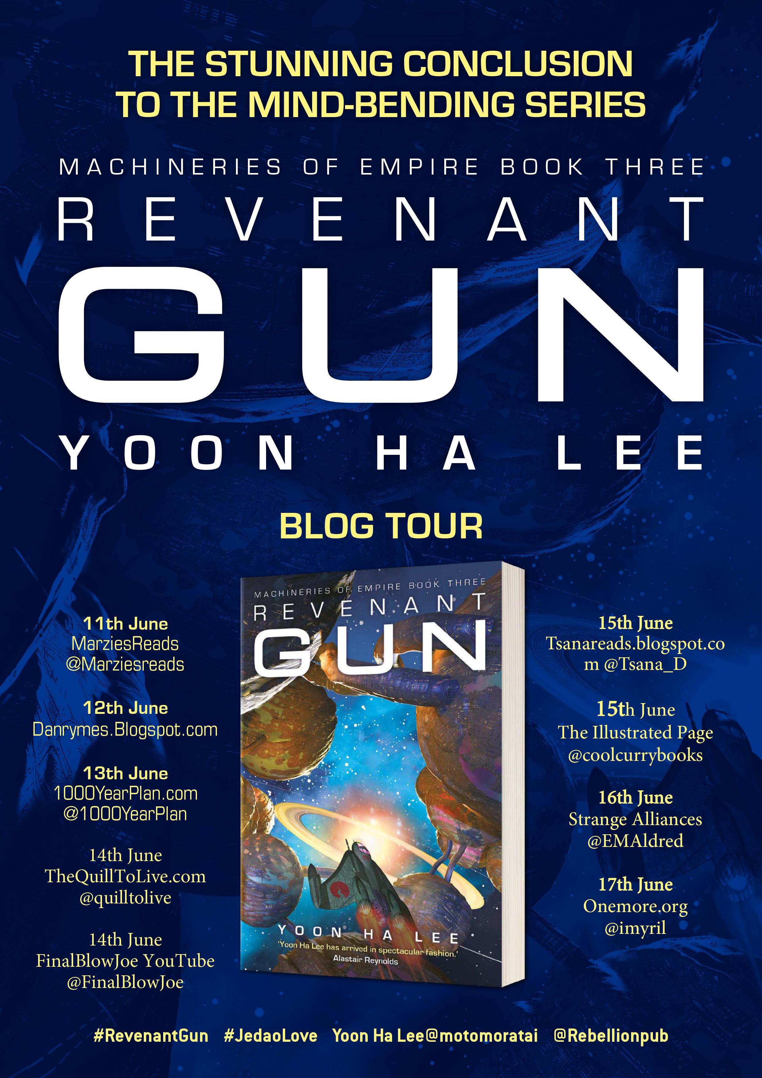 REVENANT GUN BLOG TOUR -Poster